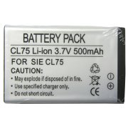 SIEMENS CL75 BATTERY 500 mAh (Li-ion)