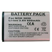 NOKIA 3650 / 6230 / 7610 BATTERY 600 mAh (Li-ion)